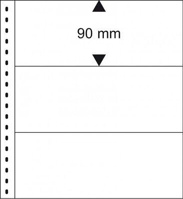 Lindner 831 Klarsichthülle mit Blankoseite für Banknoten - 1 Stück