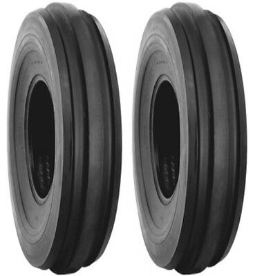 Two 2 4.00-15 Lrb Harvest King F2 Farm Tractor Front Tires And Tubes