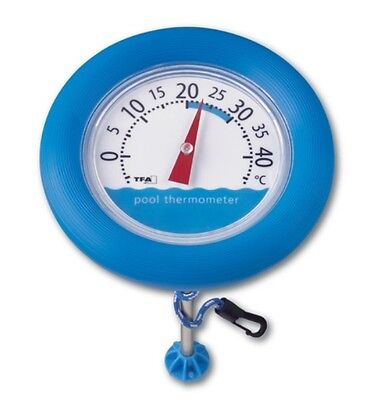 Poolthermometer Teich Thermometer Schwimmbadthermometer Poolwatch  TFA  40.2007