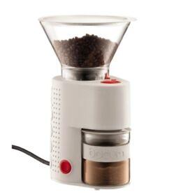 Bodum Electric Burr Coffee Grinder - Off White