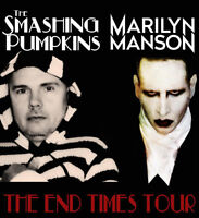 Smashing Pumpkins & Marilyn Manson tickets