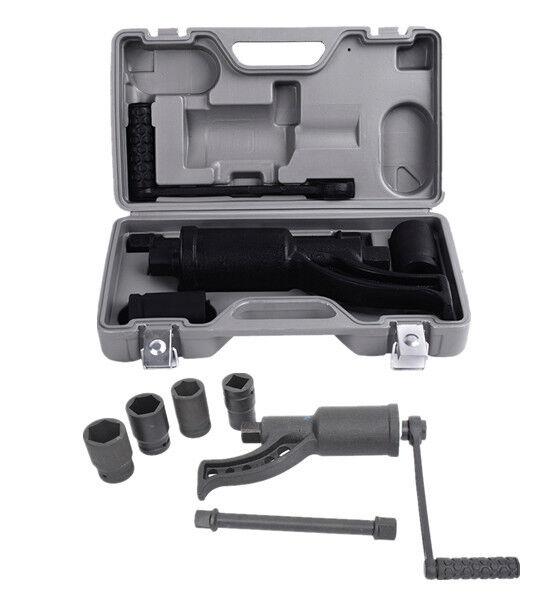 Torque Multiplier Set Wrench Lug Nut Labor Saving Lugnuts Remover 4pcs Socket