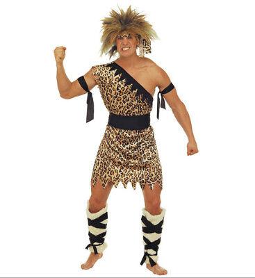 CAVEMAN FANCY DRESS COSTUME ADULT MALE TARZAN JUNGLE MAN  (Jungle Man Kostüm)