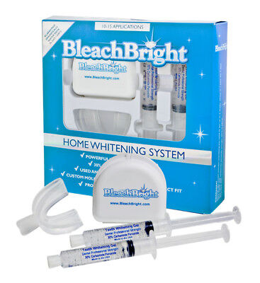 BleachBright - The Best Home Teeth Whitening System! 10-15 Applications in
