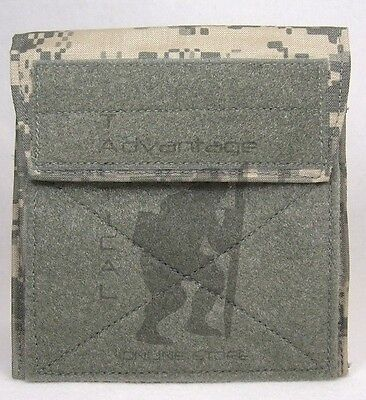 BAE Systems ECLiPSE Admin Pouch / Side Plate Pocket MOLLE - universal camo (ACU) (General Admin Pouch)