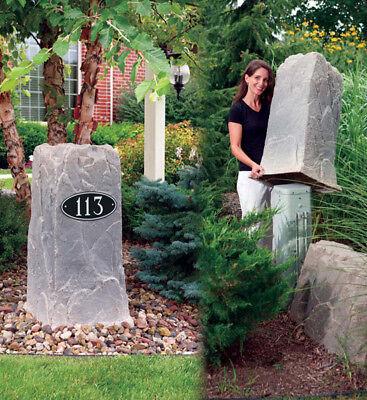 Dekorra Model 113 Rock Enclosure Well Cover, 4 Colors Available