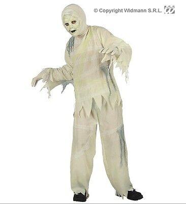 Halloween Carnevale 2015 costume vestito bambino LA MUMMIA taglia 8/10 anni