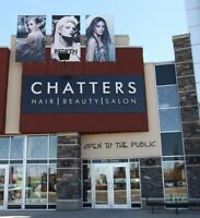 Chatters Salon and Tommy Now Hiring