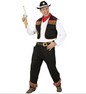 MEN'S COWBOY FANCY DRESS COSTUME OUTFIT WESTERN WILD WEST MALE - Cowboy Outfits For Men