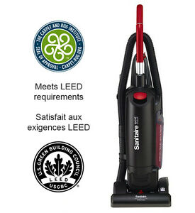 "Sanitaire® SC5713B 13"" QuietClean Upright Commercial Vacuum Wash"