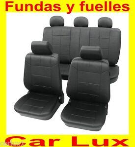 Fundas para asientos autos forros asiento coche para nissan en negro ebay - Fundas para auto ...