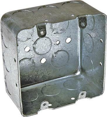 New Lot 6 Raco 683 Metal 4 X 2 18 2 Gang Deep Electrical Boxes 6638746