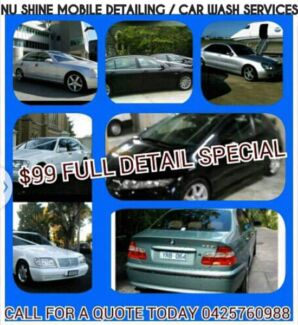 NU-SHINE MOBILE CAR DETAILER  Huntingdale Monash Area Preview
