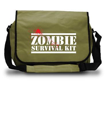 Zombie Survival Kit Bag - Laptop College School - Christmas Gift
