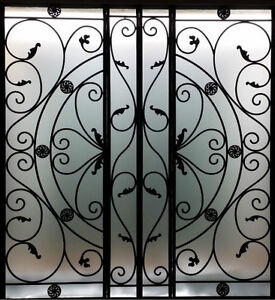 metal wall decor wrought iron stairs panels parts. Black Bedroom Furniture Sets. Home Design Ideas