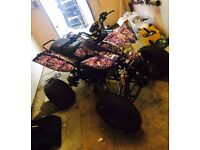 Bashan quad running road legal quad project minor thing left to do BARGIN