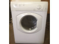 Hotpoint 7 kg vented tumble dryer. Model TVM570 Aquarius