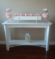 Gorgeous One of a Kind Console Table