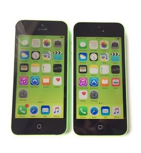 Two iPhone 5C 16GB Telus Koodo Excellent Condition