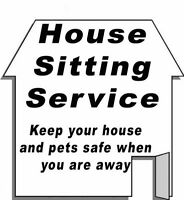 House and Pet Sitting Available for City and Country homes/farms