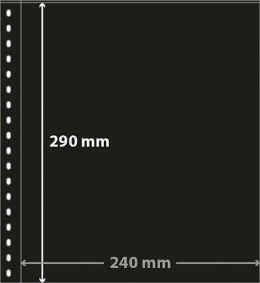 Lindner 853P Klarsichthülle mit schwarzem Zwischenblatt für Banknoten-10