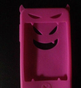 Never Used Pink Silicone Devil iPod Touch Case