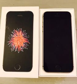 iPhone 5 SE (same processor as iPhone 6) 16gb Space Grey on EE