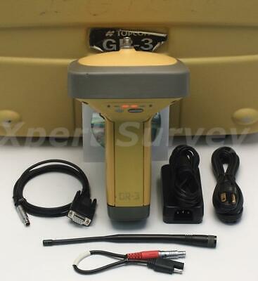 Topcon Gr-3 Gps Glonass L1 L2 915-925 Mhz Spread Spectrum Base Or Rover Receiver