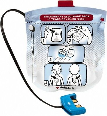 Defibtech Lifeline View Pro Ecg Pediatric Pads Ddp-2002
