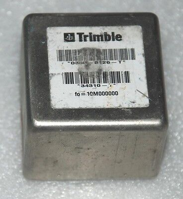 High Precision 10mhz Sinewave Ocxo Frequency Standard By Trimble 12v