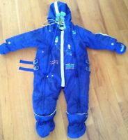 'Souris Mini' baby boy 1-piece snowsuit $50 OBO