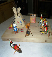 Vintage Playmobil 3733 Indian Camp