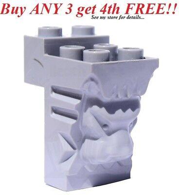 NEW LEGO Castle Figure Body Wear Armor Kingdom Lion Head Breastplate 70404