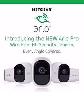 Netgear Arlo PRO Wireless Security Camera System - 3 Cameras Perth Perth City Area Preview