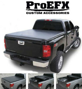 TOYOTA TUNDRA TRI-FOLD SOFT TONNEAU COVERS London Ontario image 1
