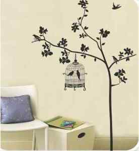 Large-Tree-and-Bird-Cage-Home-Decor-Wall-Sticker