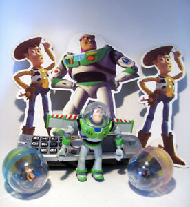 TOY STORY COLLECTIBLES - With Die Cut Advertising Figures
