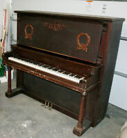 100 Year Old Vintage Upton Piano