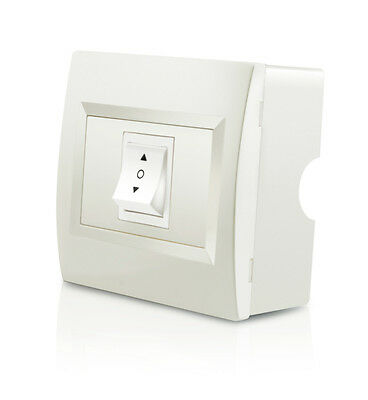 Innenschalter für Elektrische Markisen Cremefarben Markisenzubehör Wandschalter