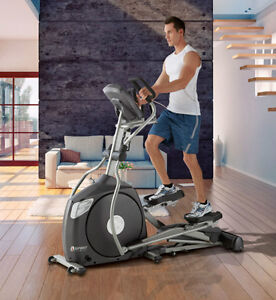 Elliptical With 20% Incline and 10 Year Warranty