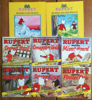 RUPERT BEAR picture books! $3 each or 8 for $20