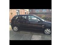 2005 Black VW Polo Turbo diesel 1.4 full service history 1 previous owners