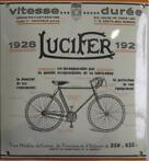 Lucifer 1928 est incomparable Emaille bord