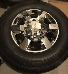 """18"""" rims / tires. 2500 3500 GMC Diesel take offs"""