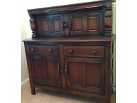 Ercol Court Cupboard - Old Colonial - Wall Unit - Dresser