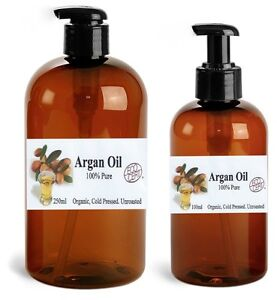 ARGAN OIL (100% Pure) Natural Organic Moroccan Argan Oil  **ECOCERT CERTIFIED***