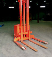 LIFT GERBEUR ELECTRIQUE USAGE - ELECTRIC LIFT STACKER USED