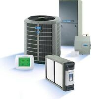 Furnace and air conditioning