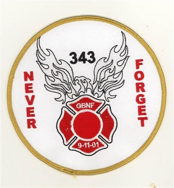 91101 Never Forget 343 GBNF Patch Gone But Not Forgotten