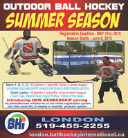 Summer Ball Hockey Leagues